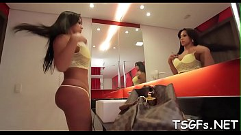 pornstar fucked lover bursty her hot by Tranny bukkake guy swallows4