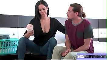 wifes big white tity Son share his mom