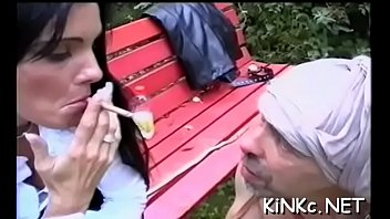 femdom forcerd sleve She plays at the park all alone