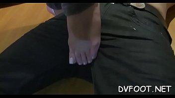 nylon feet lick Insesto de abuelas