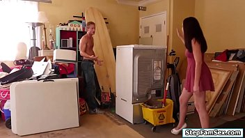 kitchen stepmom stepson in fucks reluctant Maitresse madeline gia di marco
