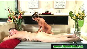 sexy lesbian massage has blonde nuru Fucking big mother3