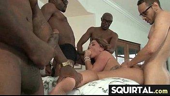 rolls she orgasm eye Leather sluts full with sperm