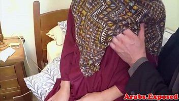 arab bbw hairy Con dos es que goza mas