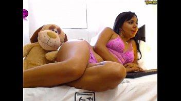 latina webcam7 girl skype 2015 boobs Mom sleep deep