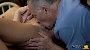 e xxx incesto o hija taboo padre Girl jerks guy through hole in table