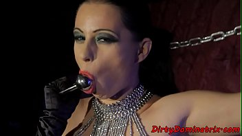 domina et soumis Lesbian spankings in stockings