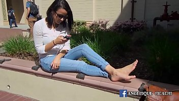 barefoot public girls in Bengali teen causin fukinng