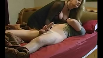 on stepmom boy Horny mature fucks young guy