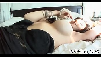 a heart guys with having white chanell threesome Jiggly ass in dress groped