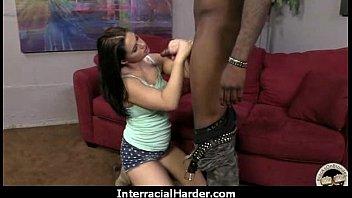 wife interracial dp Beach model sex