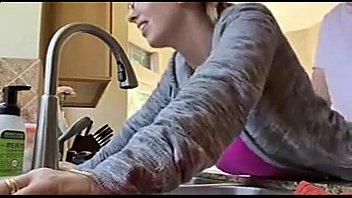 omas bauch auf Hidden camera real mom and son homemade sextape