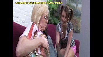 mom teen fcuk 1 black cock and 2 blondes