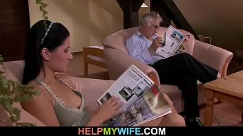 filming 3some hot having cuckold his wife hubby Gay rutting 30