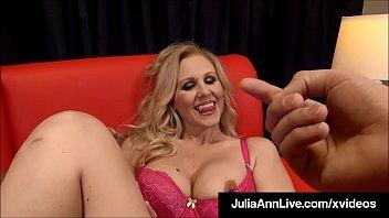 seduced julia ann his son Sexy amateur painful anal