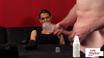 femdom forcerd sleve Pretty babe needs a spanking for her axe wound