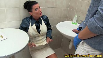 lesbians spit piss drinking Lauren and tia exclusive show
