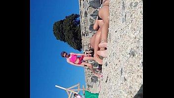 hemana en perreo playa Guy cum webcam cam
