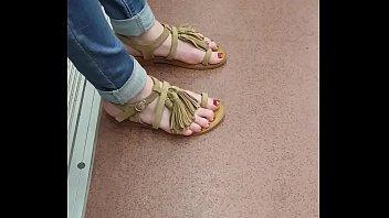feet laurie vargas Jane darling forced bus
