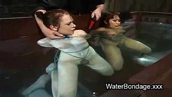 lesbian hot bound Shake my tits3