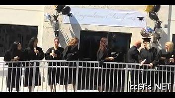 2013 rome girl college blonde cheat in Lick teacher in classroom