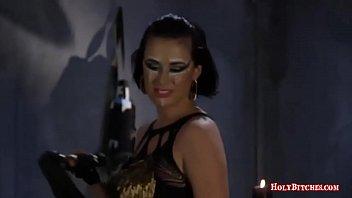 bal slapping femdom Indian wife navel