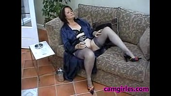 in thick mature older anle stocking Angel blade 2 of 3