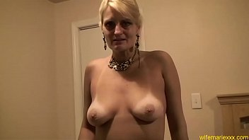 with pumping blonde the anal horny flo mature Busty mom joi