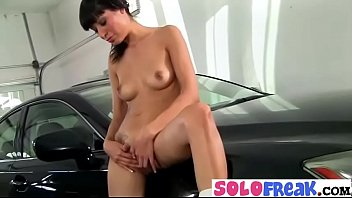 slave to forced masturbate front in Chinese nude club dance 5