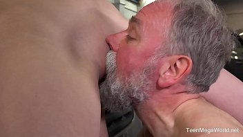 young old sex car Mom sucks sons cock and swollows his cum