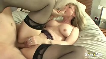 blond milf beach voyeur See mom shower