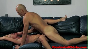 and abused dominated twink boy 4 hands massage cock