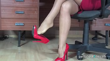 izzy pantyhose footjob Samantha naughty sex machine focked video