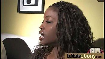 ebony sluts frosting covered in Two women one man fucking
