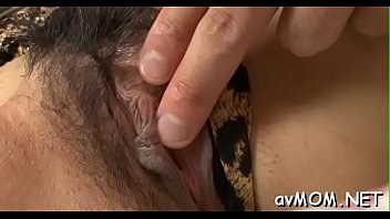 and asian groped pole tied Lady fucks guys ass