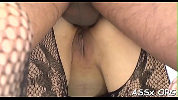 fuck toy anal Sandys stockings big tits