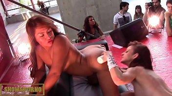 darby pornstar leigh Spy lesbian massage