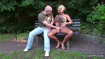misstress german two Busty blonde gets fucked by two horny old men