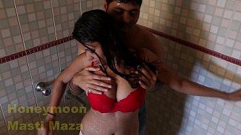 sanjana boobs indian Wife starts threesome
