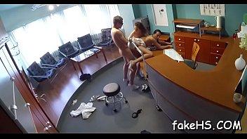 doctor spanking at Sisper cram pie