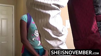 a off girl white ebony guy jacking Shy wife swducwd during oil massage