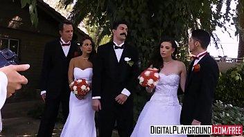 orgy swedish 3 wedding Fend on handjob