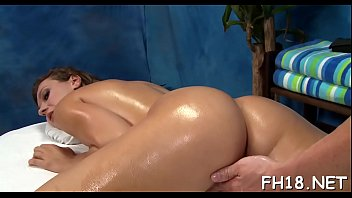 18 massage girls Maria takes double chocolate insertion