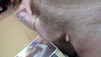 hung cock thick monster Petite bondage slut dragged mud