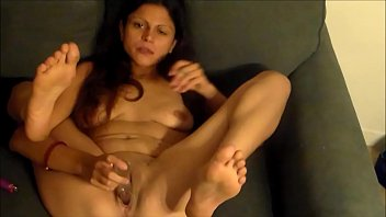 husband while wife she dildo with sleep fucks Playgirl with knockers shows outstanding cameltoe