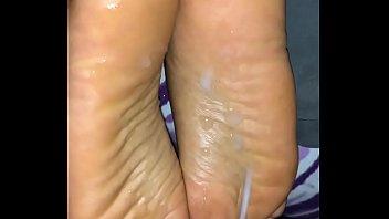 cum feet group Gangbang been wife