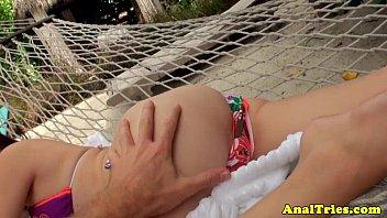 petite first anal Blonde barbie step sister