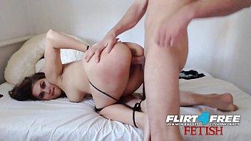 sex 40year t leday Slut blind folded and hand cufft