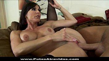 jovencitos sexo teniendo dos Latex mistress multiple orgasm handjob