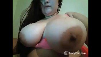 horny tits huges Amiga colombiana ximena en tanga por skype